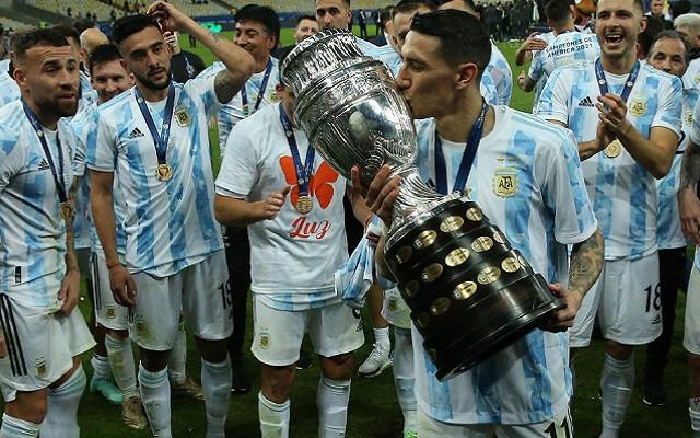 Анхель Ди Мария назван лучшим игроком финала Копа Америка