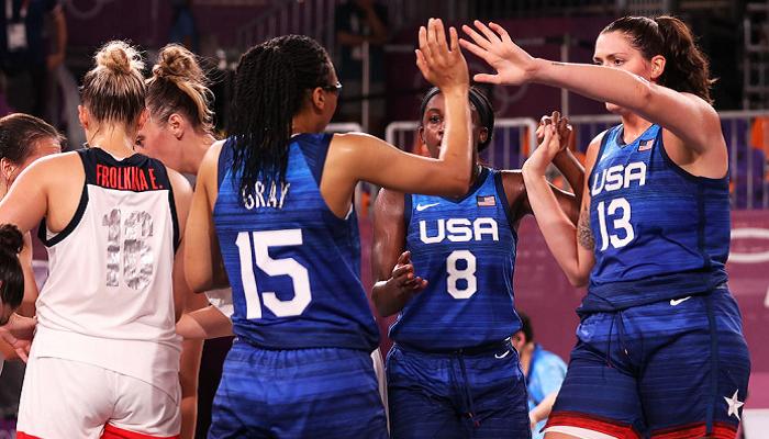 Женская сборная США по баскетболу 3×3 завоевала золото Игр