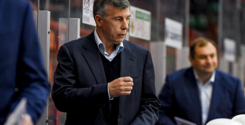 Игорь Жилинский: «Качество хоккея пока оставляет желать лучшего, мы работаем»