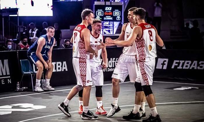 Юниорская сборная Беларуси стала бронзовым призёром чемпионата мира по баскетболу 3х3