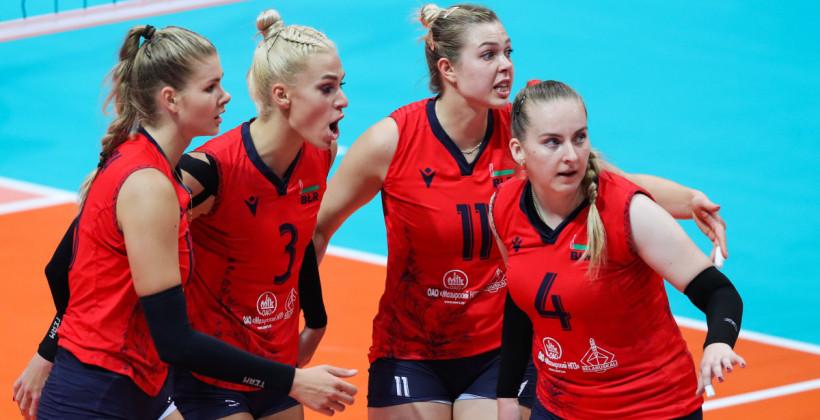 Сборная Беларуси сыграет в 1/8 финала женского чемпионата Европы по волейболу со сборной России