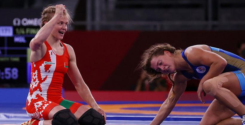 Ирина Курочкина гарантировала себе олимпийскую медаль в вольной борьбе