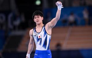 Японец Хасимото завоевал золото Олимпиады в спортивной гимнастике на перекладине