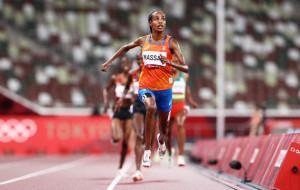 Хассан завоевала золото Олимпиады в беге на 5000 метров