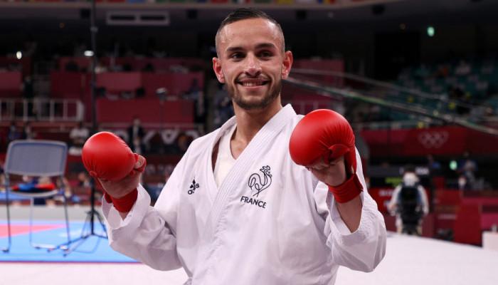 Француз да Коста стал олимпийским чемпионом по карате в категории до 67 кг