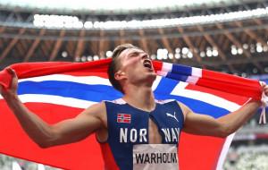 Норвежец Вархольм стал победителем Олимпиады в забеге на 400 метров с барьерами
