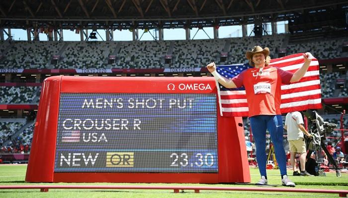 Райан Краузер стал олимпийским чемпионом по толканию ядра