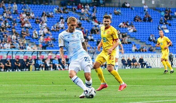 Киевское Динамо Шкурина сыграло вничью с Ингульцом