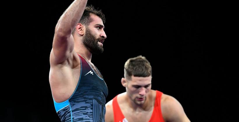Маскевич уступил Метвалли в 1/8 финала Олимпиады в Токио