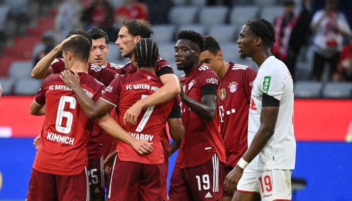 Бавария не без труда на своём поле переиграла Кёльн