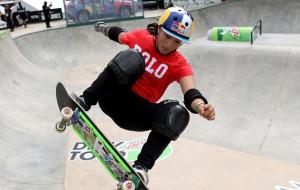 Сакура Есодзуми стала олимпийской чемпионкой по скейтбордингу