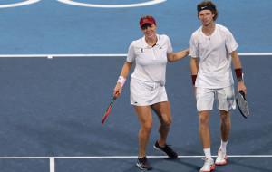 Рублёв и Павлюченкова стали олимпийскими чемпионами в парном миксте олимпийского теннисного турнира