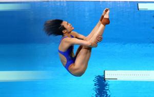 Ши Тинмао стала олимпийской чемпионкой по прыжкам с трамплина