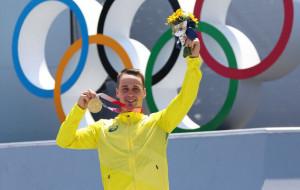 Логан Мартин стал Олимпийским чемпионом в BMX-фристайле