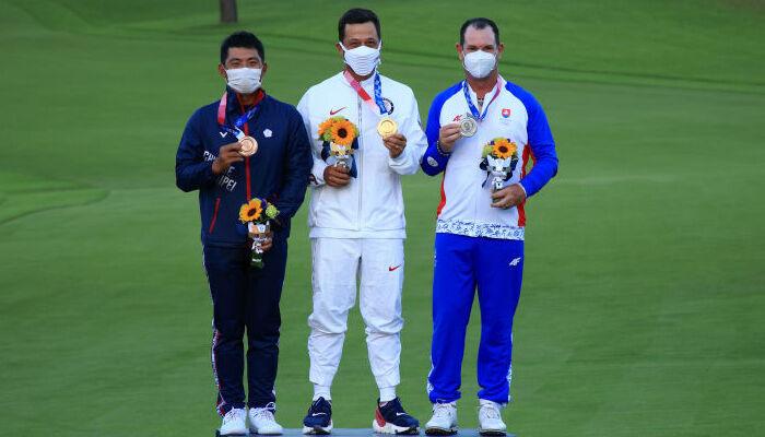 Ксандер Шоффель стал олимпийским чемпионом по гольфу