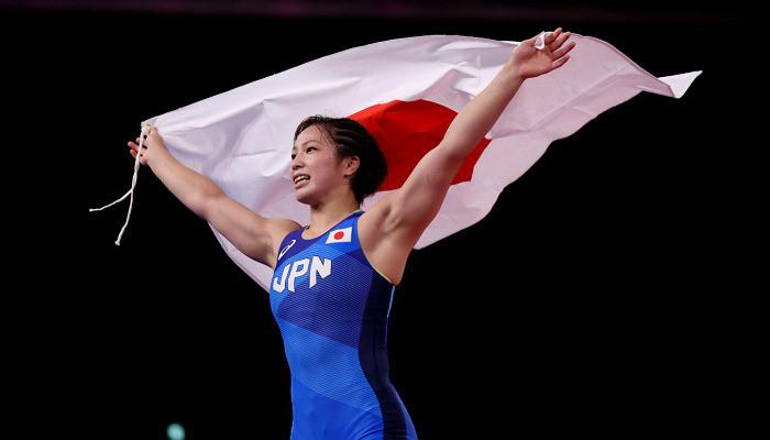 Юкако Каваи стала олимпийской чемпионкой по вольной борьбе