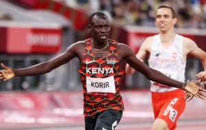 Эммануэль Корир завоевал золотую медаль в беге на 800 метров