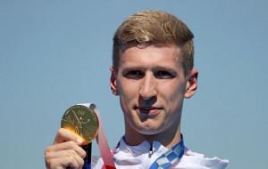 Флориан Велльброк завоевал золото в плавании на открытой воде