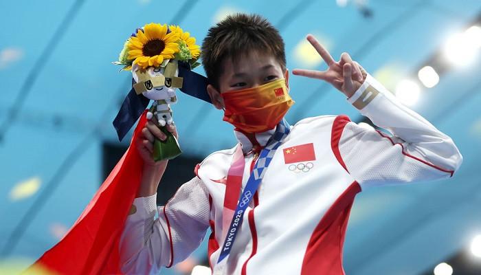 Хунчань Цюань завоевала золото в прыжках в воду с 10-метровой вышки