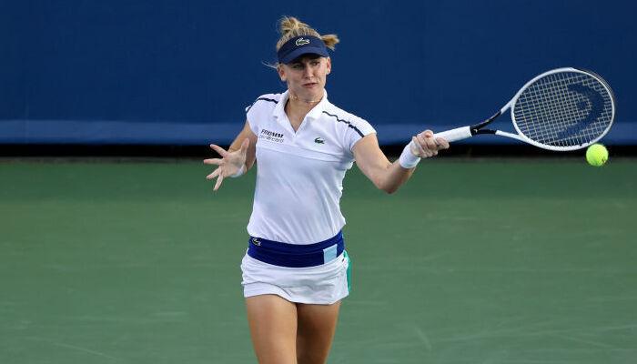 Жиль Тайхманн переиграла Каролину Плишкову в полуфинале турнира в Цинциннати