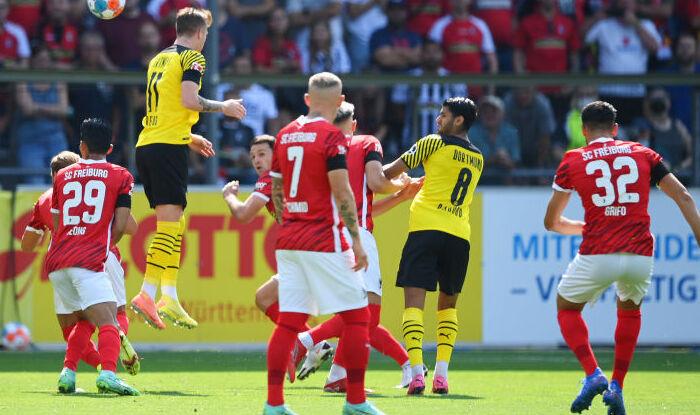Дортмундская Боруссия сенсационно проиграла в гостях Фрайбургу