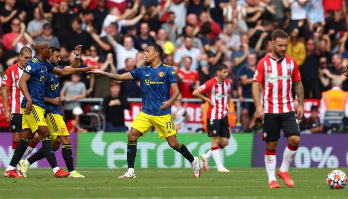 Саутгемптон отнял очки у Манчестер Юнайтед, сыграв вничью