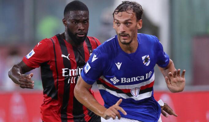 Милан минимально обыграл Сампдорию в стартовом туре Серии А