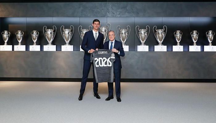 Куртуа подписал новый контракт с Реалом до 2026 года