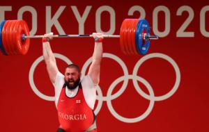Тяжелоатлет Лаша Талахадзе установил новый мировой рекорд