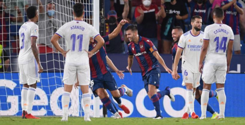 Леванте и Реал разделили очки в матче второго тура Ла Лиги