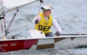 Анне-Мари Риндом стала олимпийской чемпионкой в соревнованиях по парусному спорту