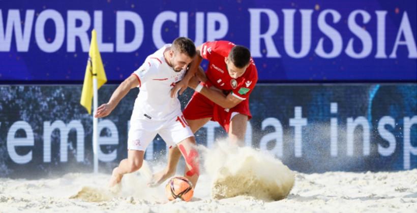 Беларусь разгромно проиграла Швейцарии, выигрывая 3:1 после первого тайма