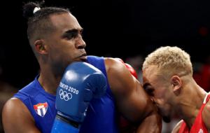 Арлен Лопес стал олимпийским чемпионом по боксу в категории 75-81 кг