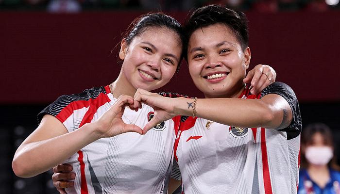 Индонезийская пара выиграла олимпийские соревнования по бадминтону среди женщин