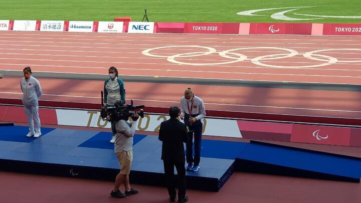 Елизавета Петренко выиграла бронзовую медаль на Паралимпиаде в Токио