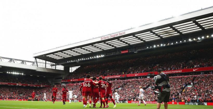 Ливерпуль на домашнем поле всухую обыграл Бёрнли