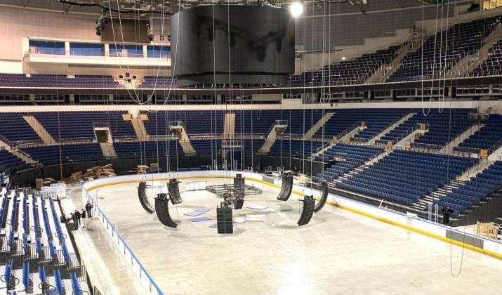 Минск-Арена обновилась перед новым сезоном КХЛ