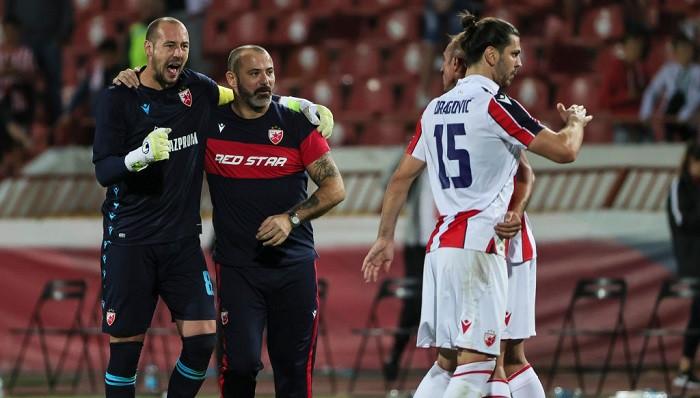 Црвена Звезда в раунде плей-офф Лиги Европы на своём поле разгромила румынский Клуж