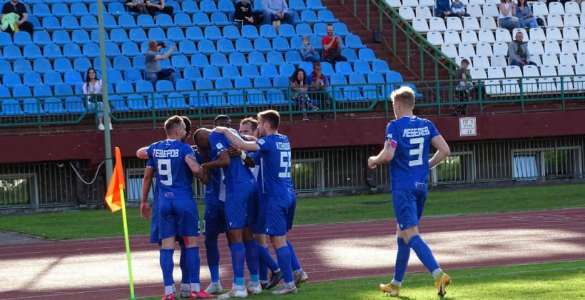 Витебск уверенно одолел брестское Динамо благодаря дублю Теверова