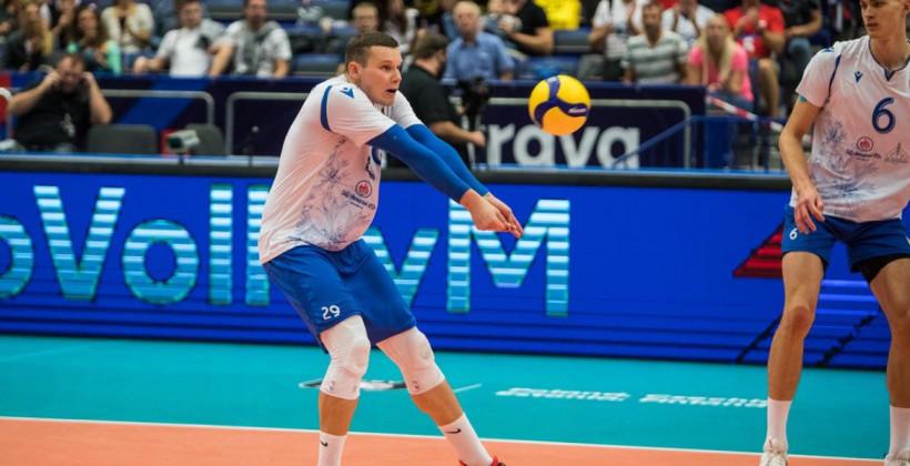 Сборная Беларуси разгромила Черногорию в матче чемпионата Европы по волейболу