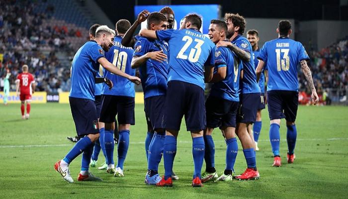 Италия не оставила шансов Литве, забив пять безответных мячей