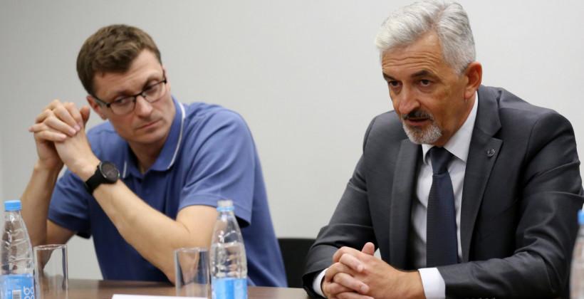 Юрий Шакола: «Название Цмокi-Мiнск существует последний сезон. Оно просуществовало 9 лет, но это уже история»