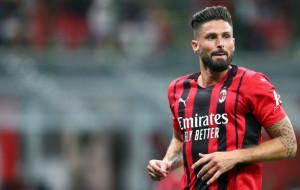 Оливье Жиру не поможет Милану в матче против Ювентуса из-за коронавируса