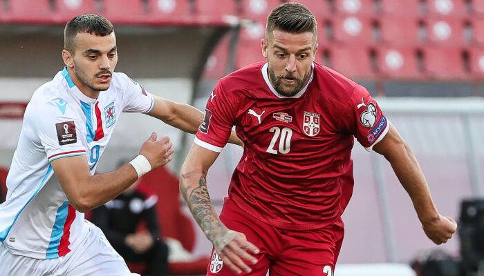 Сербия не оставила шансов Люксембургу в отборе на ЧМ-2022