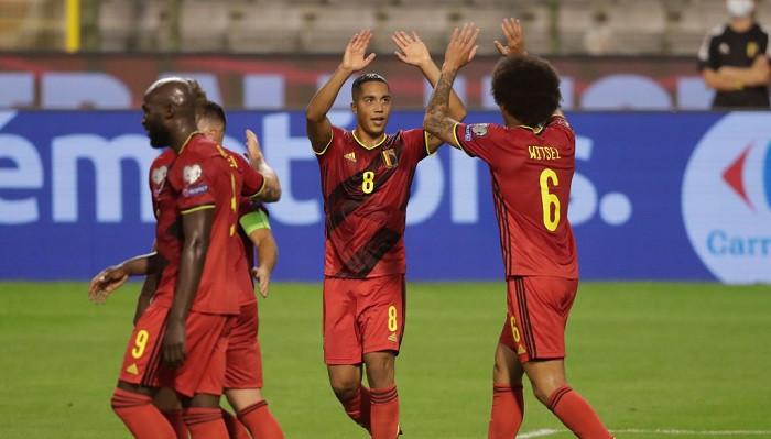 Сборная Бельгии не оставила шансов чехам и возглавила белорусскую группу отбора на ЧМ-2022