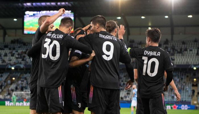 Ювентус разгромил в гостях Мальме в первом матче группового этапа Лиги чемпионов