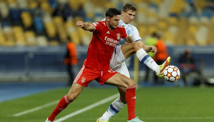 Киевское Динамо и Бенфика не забили друг другу голы в первом матче группового этапа Лиги чемпионов