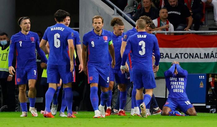 Англия на выезде разгромила Венгрию в квалификации ЧМ-2022