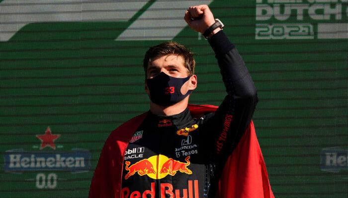 Макс Ферстаппен на три очка опережает Льюиса Хэмилтона в общем зачёте Формулы-1