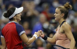 Фантастическая победа Саккари над Андрееску в 1/8 финала US Open (видео)